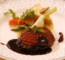 柔らかな和牛フィレ肉のグリル (2,000円増)