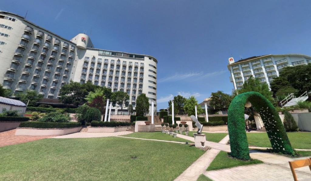 ガーデンチャペル360度パノラマ画像を公開
