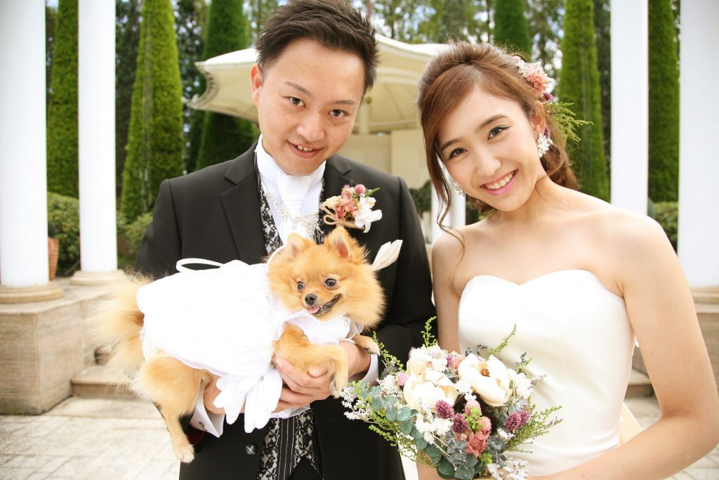 愛犬OK!広大なガーデンチャペルで行う私たちらしい結婚式