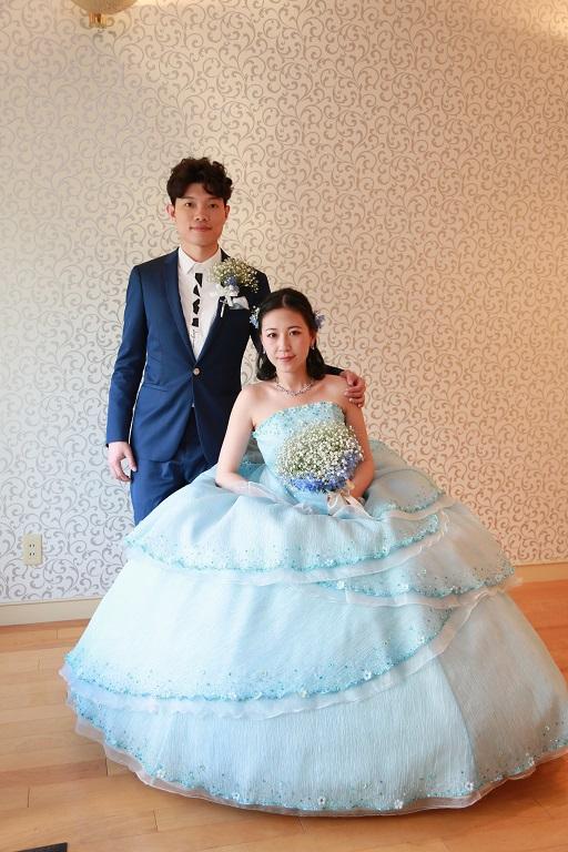 日本で結婚式を・・・