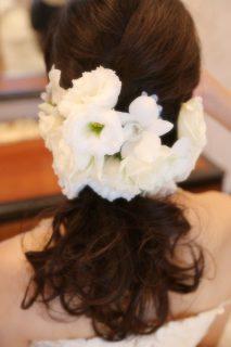 洋装_ドレスのヘアー